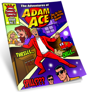 Comic Book ~ Issue #1 ~ The Adventures of Adam Ace