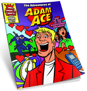 Comic Book ~ Issue #2 ~ The Adventures of Adam Ace